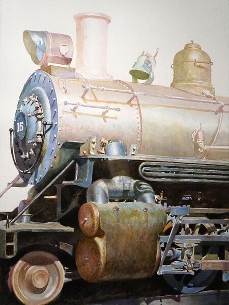 Drew Ernst, 'Golden Train Study', 2019