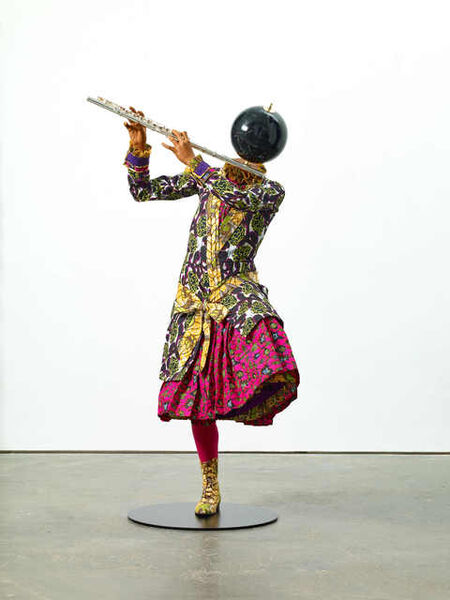 Yinka Shonibare CBE, 'Planets in My Head, Music II (Flute Girl)', 2018