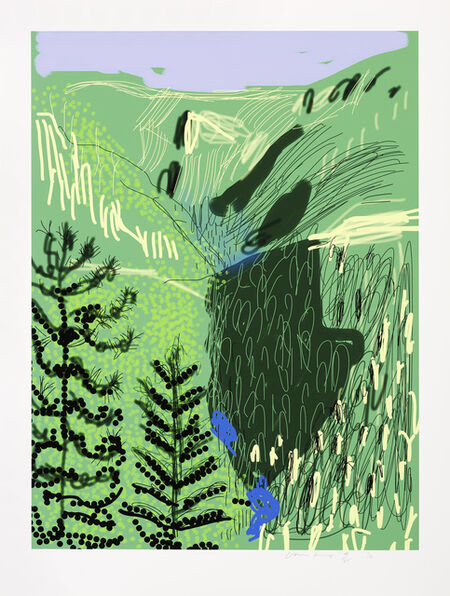 David Hockney, 'The Yosemite Suite No.21', 2010
