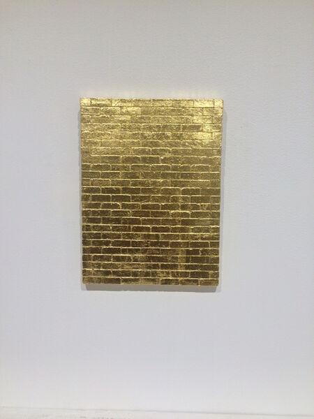 Noor Ali Chagani, 'Golden Wall', 2015