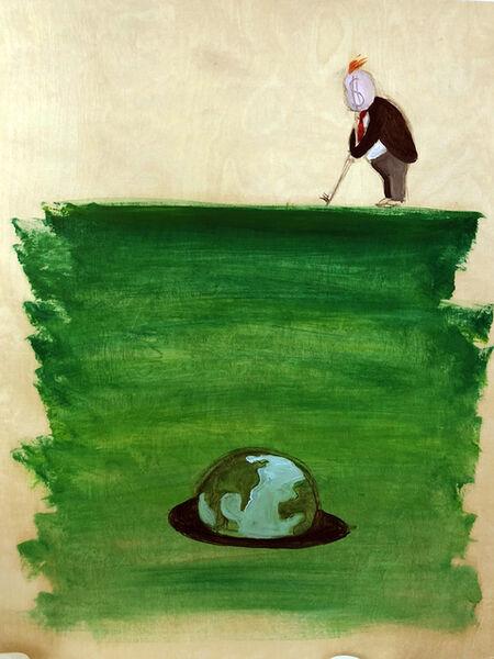 Sandra Ramos, 'Trumpito (Golf World)'