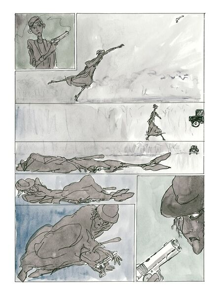 """Jules Feiffer, 'From """"Kill My Mother"""", by Jules Feiffer (Liveright Publishing Corporation)', 2013"""