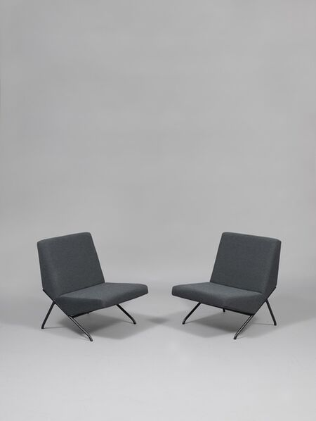 Pierre Guariche, 'Pair of chairs SG1', 1959/1960