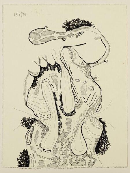 Carroll Dunham, 'Untitled (12.3.90)', 1990