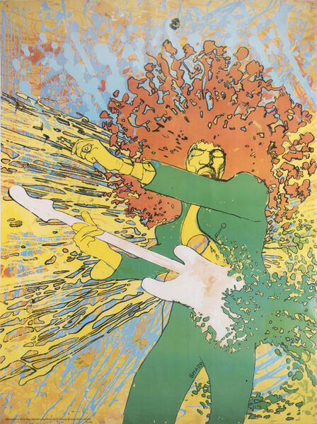 Martin Sharp, 'Jimi Hendrix Explosion', 1968