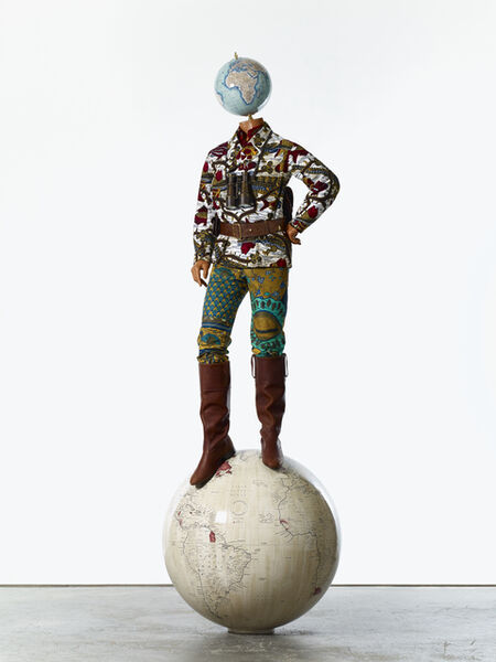 Yinka Shonibare CBE, 'Post-Colonial Globe Man', 2018