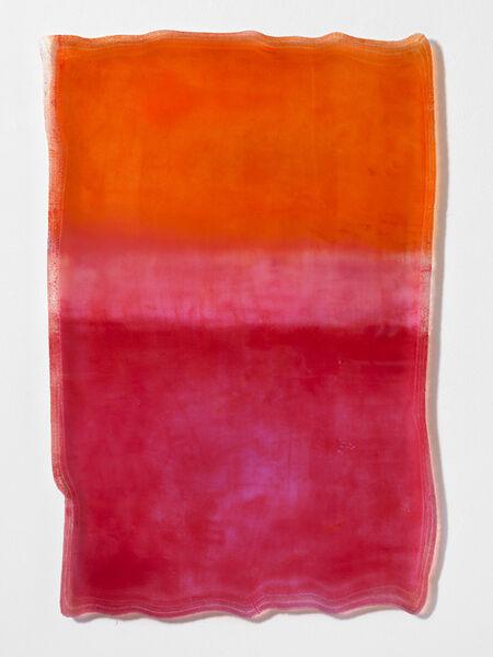 Daniel Knorr, 'Depression Elevations (Orange and Pink Waves)', 2019