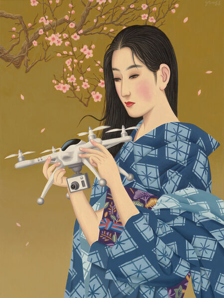 Alex Gross, 'The Cherry Blossom Tree'