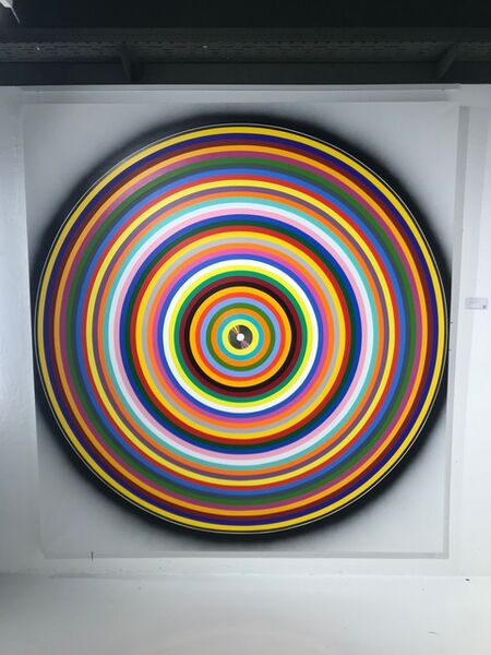 Peter Kalkhof, 'Concentric Color Circles', 2000