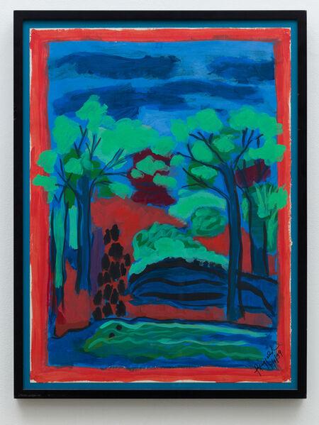 Faith Ringgold, 'Coming to Jones Road Study #1: Wejus Keep a' Comin'', 1999