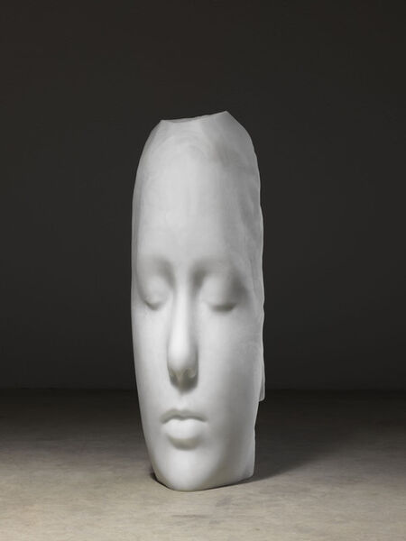 Jaume Plensa, 'Duna (White Head)', 2018