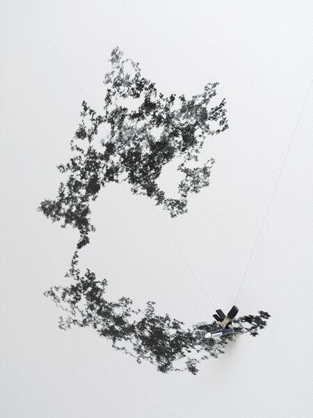 Tristan Perich, 'Machine Wall Drawing (2018-02-27 5:40 PM)', 2018