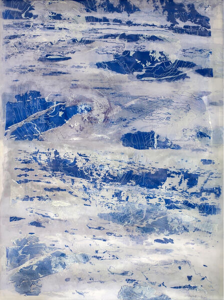 Soledad Salamé, 'White is Becoming Blue', 2019