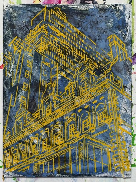 Quinten Edward Williams, 'Three buildings', 2017