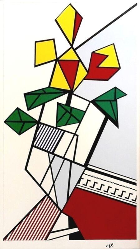 Roy Lichtenstein, 'Flowers (C. III.46)', 1973, Print, Screenprint on white wove paper, David Benrimon Fine Art