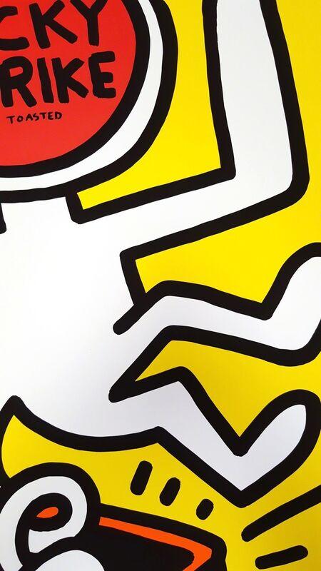 Keith Haring, 'Lucky Strike II', 1987, Posters, Screenprint, Poster, Graves International Art