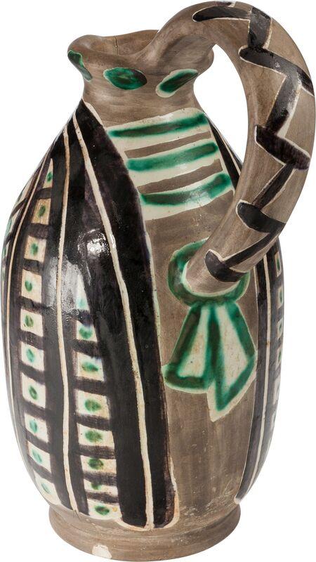 Pablo Picasso, 'Femme du barbu', 1953, Design/Decorative Art, Terre de faïence pitcher, partially glazed, Heritage Auctions