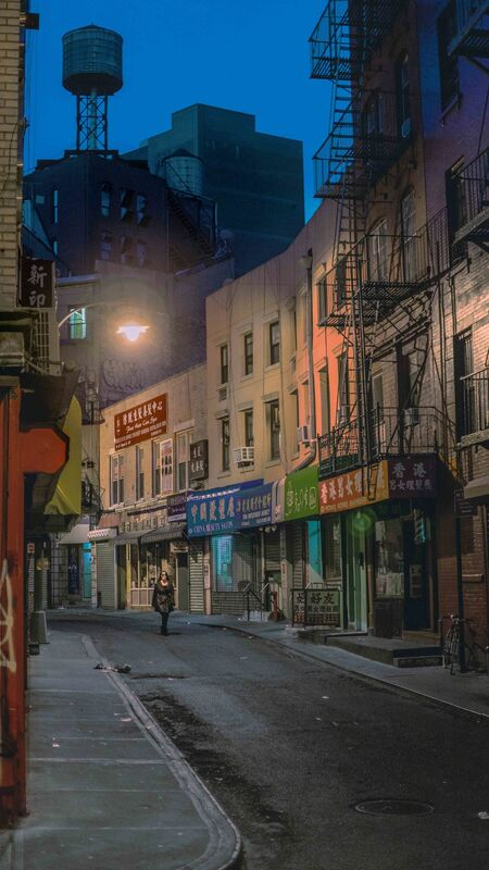 Holly Zausner, 'Chinatown Dawn', 2015, Photography, Color Photograph, Postmasters Gallery