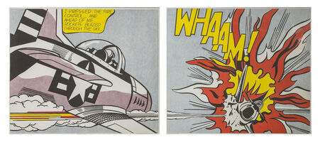 Roy Lichtenstein, 'WHAAM',  1963-1967