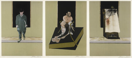 Francis Bacon, 'Triptych 1986-1987', 1987