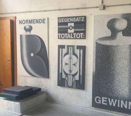 Franz Vana INNEN SINNEN, installation view