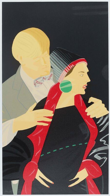 Alex Katz, 'Pas de Deux', 1993, Print, Each: Colour silkscreen on Arches, Van Ham