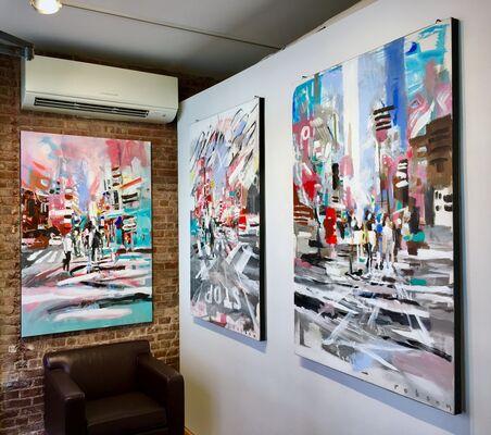 Kenji Nakayama and Brad Robson: 60 Days of Summer, installation view