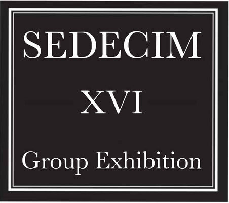 SEDECIM XVI Group Exhibition, installation view