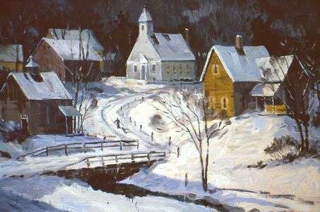 Frederick Kubitz, 'Winter - Waites River, VT', 1996