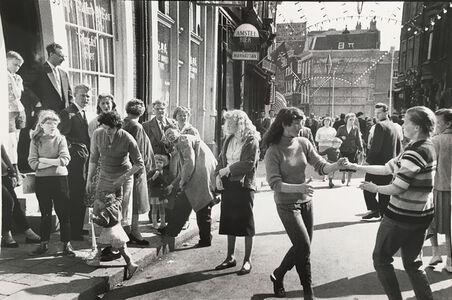 Ed van der Elsken, 'Dancing on the Zeedijk, Amsterdam', 1961