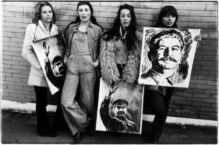 Uliano Lucas, 'Milano, Università statale movimento studentesco', 1975