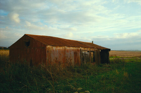 Justin Partyka, 'Red Farm Shed, Norfolk', 2006