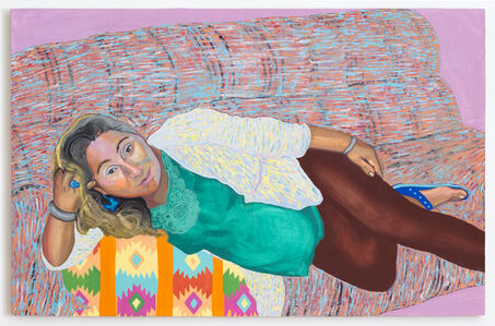 Aliza Nisenbaum, 'Carmen, 8 months pregnant', 2016