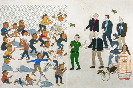 Israel Campos, 'Malitzin at the frontera', 2020