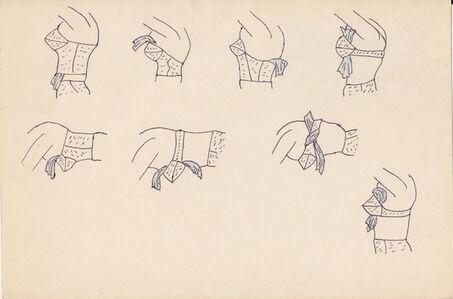 Christina Ramberg, 'Untitled (torsos)', ca. 1971