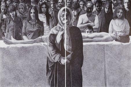 Ahmad Morshedloo, 'Post Suspension', 2014