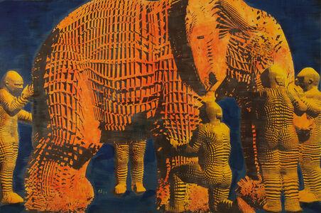 Miao Xiaochun 缪晓春, 'Blind Men and An Elephant (left)', 2016