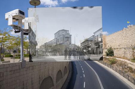 Jack Persekian, 'Forking of Jaffa Road & Mamilah Road', 2019