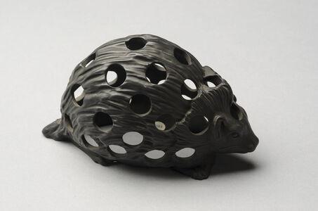 Wedgwood, 'Black Basalt Hedgehog', 19th Century