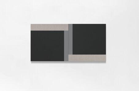 Scot Heywood, 'Haikube - Black, Linen, Gray', 2020