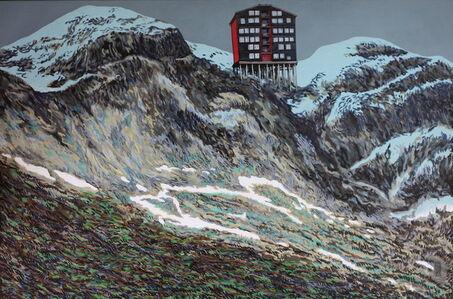 Alexei Svetlov, 'Svart hus fra Trondheim', 2019