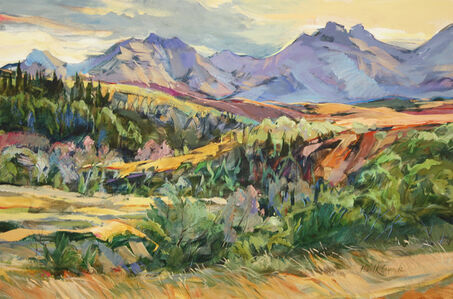 Brent Laycock, 'Drywood Coulee Summer', 2020