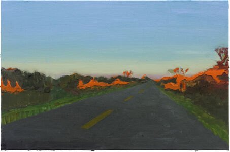 Rodrigo Andrade, 'Late afternoon on the road', 2016