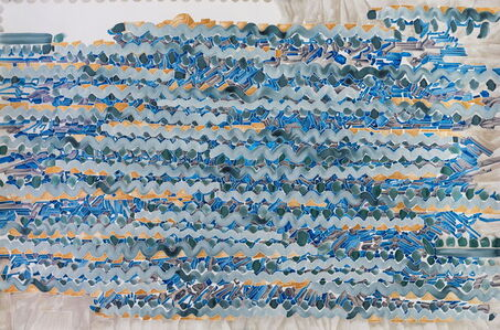 Chen Xi 陈熹, 'Details of my abstract painting that form a parallel world composed of machines. NO. 22 ', 2014
