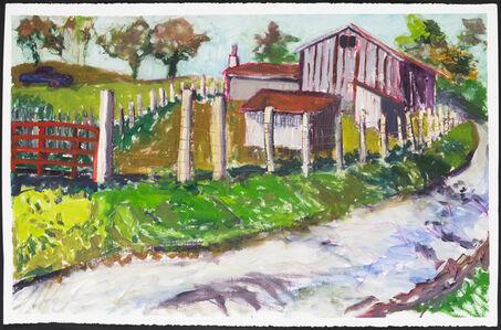 Gina Phillips, 'Silver Creek Road (October 18, 2017)', 2017