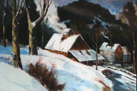 Frederick Kubitz, 'Sugar House - Vermont Spring', 1996