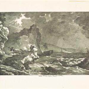 Carle Vernet, 'La tempˆte', 1810