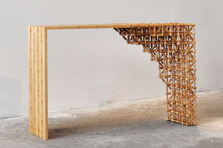 Studio mischer'traxler, 'Gradient Mashrabiya Sideboard', 2012