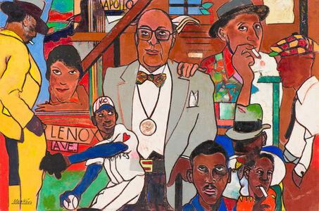 Richard Merkin, 'Honoring the Saints, James Vanderzee in Harlem', 2002