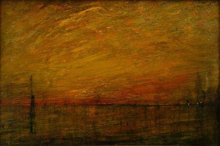 William Gedney Bunce, 'Sunset Variations', ca. 1900